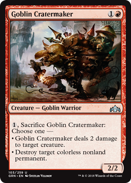 Goblin Cratermaker - Magic: the Gathering