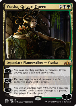 Image of Vraska Golgari Queen
