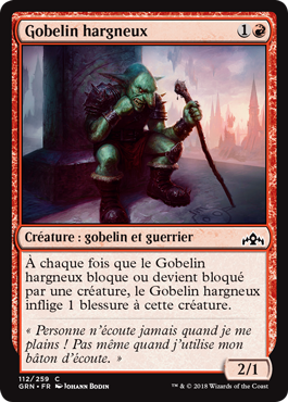 Gobelin hargneux