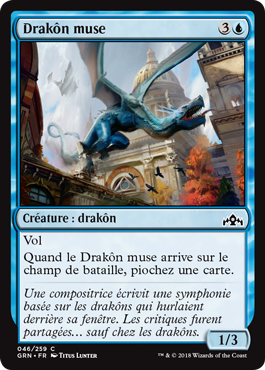 Drakôn muse