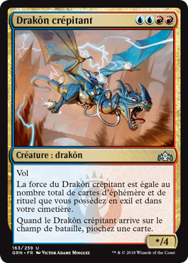 Drakôn crépitant