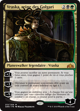 Vraska, reine des Golgari