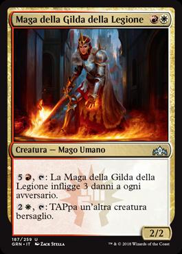 Maga della Gilda della Legione