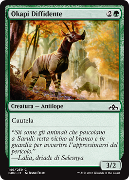 Okapi Diffidente