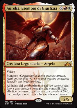 Aurelia, Esempio di Giustizia