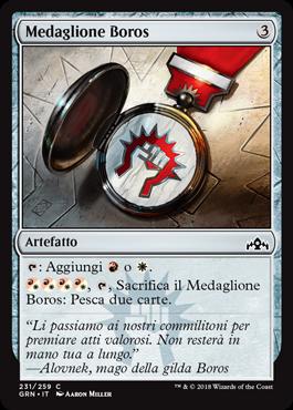Medaglione Boros