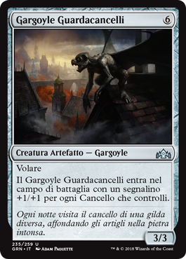 Gargoyle Guardacancelli