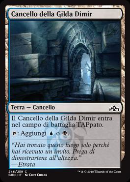 Cancello della Gilda Dimir
