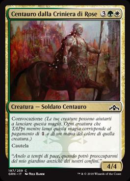 Centauro dalla Criniera di Rose