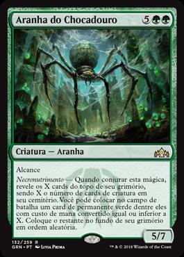 Aranha do Chocadouro