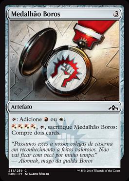 Medalhão Boros