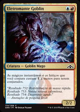 Eletromante Goblin