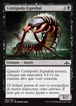 Centípodo Espinhal
