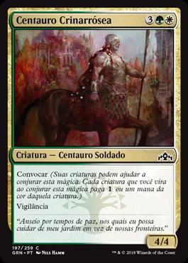 Centauro Crinarrósea