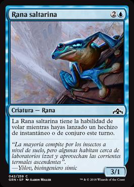 Rana saltarina