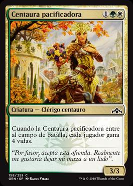 Centaura pacificadora