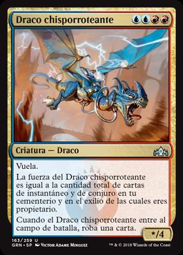 Draco chisporroteante