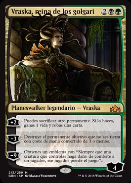 Vraska, reina de los golgari