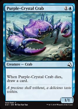 Purple-Crystal Crab