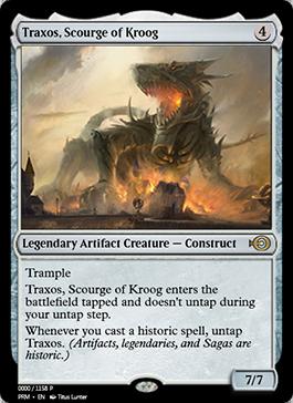 MTGO Traxos, Scourge of Kroog