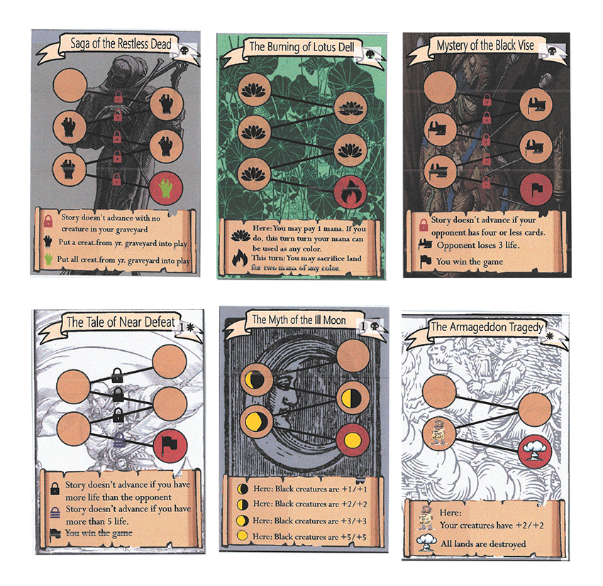 Richard Garfield playtest cards