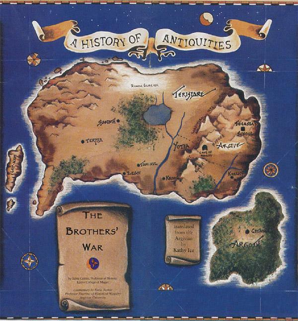 Early Terisiare Map (1994)
