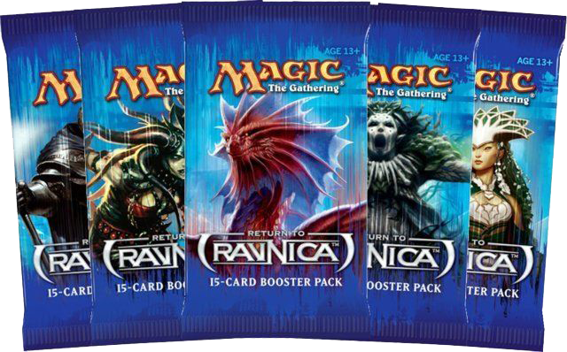 Return to Ravnica booster images