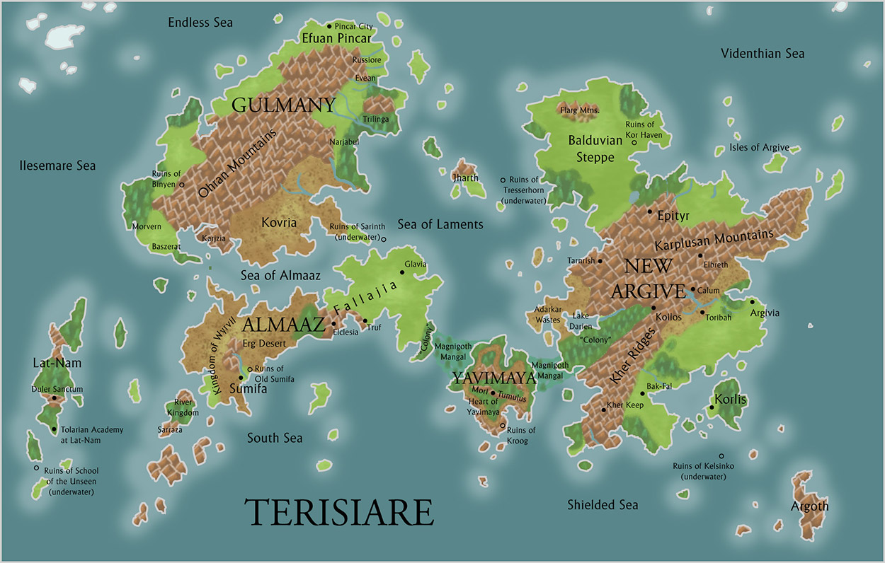 Dominarian cartography magic the gathering terisiare art by ethan fleischer gumiabroncs Choice Image