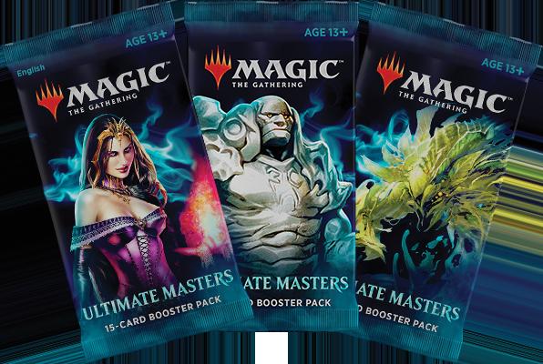 <em>Ultimate Masters </em>Booster Packs