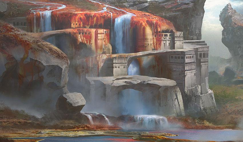 Серный Водопад