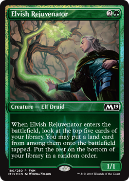 Elvish Rejuvenator promo