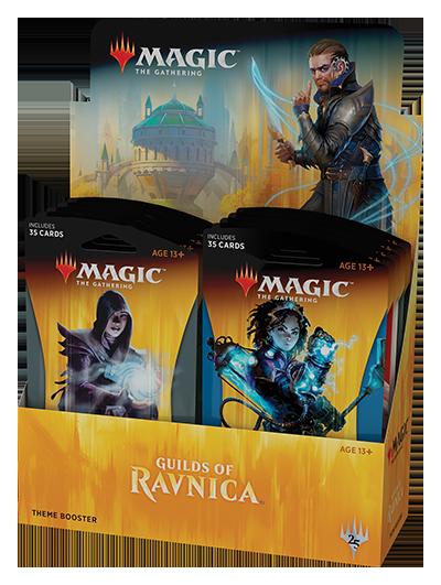 <em>Guilds of Ravnica </em>Theme Booster