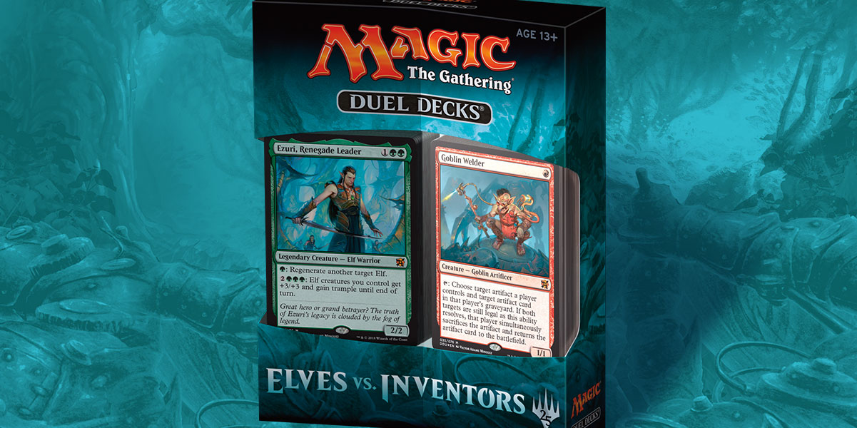 MTG Duel Decks: Elves vs Inventors (T.O.S.) -  Wizards of the Coast