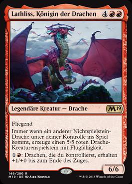 Lathliss, Königin der Drachen