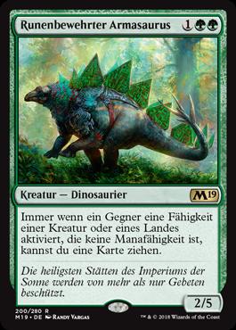 Runenbewehrter Armasaurus