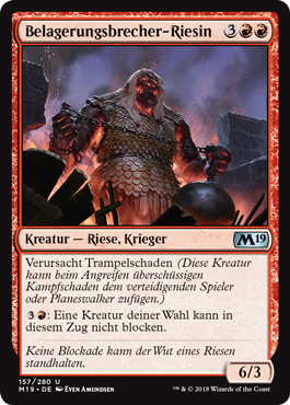 Belagerungsbrecher-Riesin