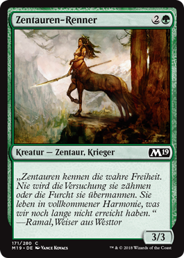 Zentauren-Renner