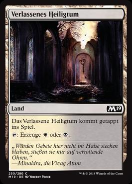 Verlassenes Heiligtum