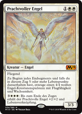 Prachtvoller Engel