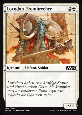Loxodon-Frontbrecher