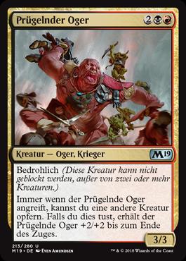 Prügelnder Oger