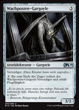 Wachposten-Gargoyle