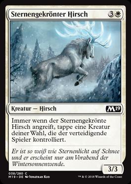 Sternengekrönter Hirsch