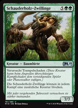 Schauderholz-Zwillinge