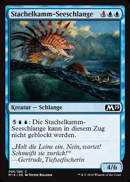 Stachelkamm-Seeschlange