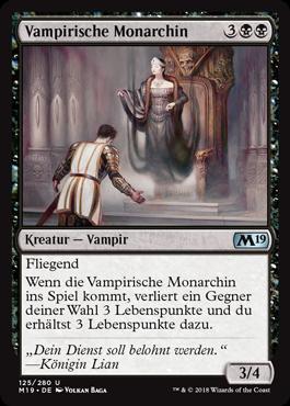Vampirische Monarchin