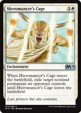 Hieromancer's Cage - Magic: the Gathering