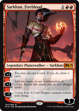 Sarkhn, Fireblood - Magic: the Gathering