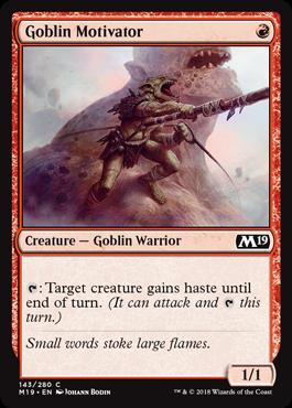 Goblin Motivator