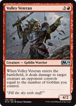 Volley Veteran - Magic: the Gathering